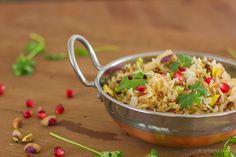 Arroz de tâmaras • Dates rice Rice Dishes, Spicy, Grains, Freedom, Gluten, Tasty, Indian, Food, Recipes