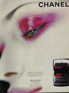 this is why i'm sad. Vintage Makeup Ads, Retro Makeup, Vintage Beauty, Vintage Ads, 90s Makeup, Chanel Makeup, Makeup Cosmetics, Beauty Ad, Beauty Make Up
