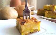 Ricetta fingerfood,aperitivo ,gita fuori porta!!L'economica Frittata di patate senza glutine amata da grandi e piccini