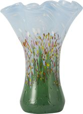 VP560 Mini Ruffle Vase Wildflowers
