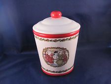 Burton & Burton 'Tis the Season'  Christmas Cookie Jar