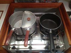 Space saving pans! #Sailingrallies
