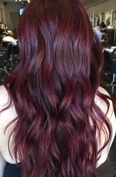 17 Best images about Burgundy Hair Color on Pinterest #hairstyles #hairideas #haircolor Wine Red Hair Color, Red Purple Hair, Hair Color Dark, Cool Hair Color, Dark Red Hair Burgundy, Red Balayage Hair Burgundy, Color Red, Cherry Red Hair, Hair Colour