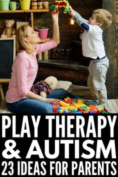 4 Play Therapy Techniques for Autism [And Why They Work] - beatrice Autism Help, Autism Learning, Autism Sensory, Adhd And Autism, Autism Parenting, Forms Of Autism, Aba Therapy Activities, Speech Therapy, Challenges