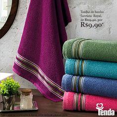 Amor de mãe é amor que não se mede. Mas a gente pode retribuir com presentes. As toalhas Santistas são uma boa sugestão. Bonitas, macias, confortáveis. Fica a dica! #Tenda, a sua moda.