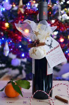 Kit à vin chaud {cadeau gourmand + étiquettes à télécharger}   Turbigo Gourmandises Yule, Diy Kits, Xmas, Christmas, Homemade, Table Decorations, Gifts, Receptions, Detox