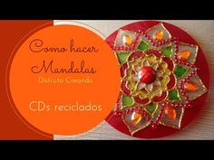 Mandala rojo | Manualidades