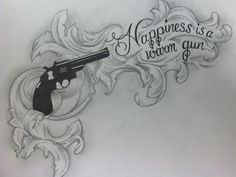 This is a sketch I did for a Beatles tattoo.