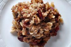 Park Avenue: DCB Recipe #16: Michigan Baked Oatmeal