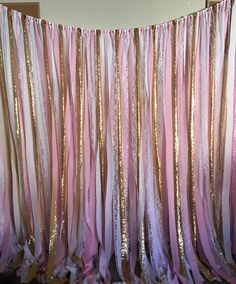 Light pink (1st picture) gold, white and lace Medium pink (2-4 picture) gold, white and lace They are handmade, hand cut, and made to order. They may fray at the ends. No two will be exactly alike. Fabrics WILL vary depending on availability. -------------------------- Fabric banner- custom requests welcomed! Materials: pinks, blush pink,white cotton, gold sequin, white lace Other lace color options include champagne, ivory and grey. Glamourous and vintage-inspired wedding fabric and lace g