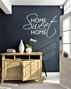 Home Sweet Home Quote Sticker | #HomeDecor #HomeSweetHome