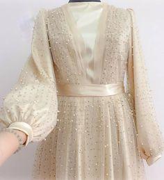 Famous Tutorial and Ideas Dress Brokat Modern, Kebaya Modern Dress, Kebaya Dress, Dress Pesta, Anarkali Dress, Hijab Gown, Hijab Dress Party, Hijab Style Dress, Dress Outfits