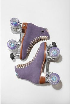 purple rollerskates for @Krista Unger