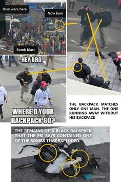 CONNECT THE DOTS on Crisis Actors Boston bombing - False Flag