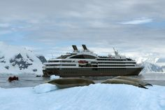 Compagnie du Ponant Yacht Cruises to Antarctica by Luxe Travel. Ask us how you can get this up close and personal.