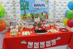 Violeta Glace 's Birthday / Baby TV - Photo Gallery at Catch My Party Baby Boy 1st Birthday, 1st Birthday Parties, Happy Birthday, Candy Bar Party, Candy Table, Baby First Tv, Tv Themes, Little Babies, Birthday Invitations