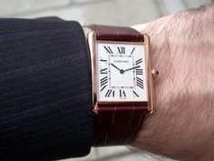 Cartier - A Personal Take on the Cartier Tank
