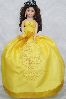 Beauty and the Beast Quinceanera Doll - Quinceanera Style