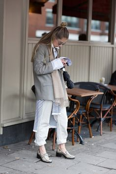 inspiration – layers and rolled up denim - A Love is Blind