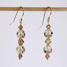 Swarovski Crystal Silky Road Earrings