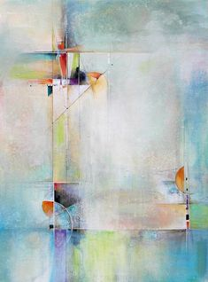 Modern Art Print featuring the painting Transitions by Karen Hale