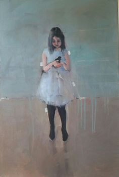 Oil painting by South African artist Sharleen Boaden available at The Henry George Gallery South African Artists, Girls Bedroom, Bedrooms, Little Girls, Tulle, Ballet Skirt, Gallery, Journal, Oil