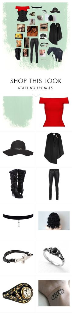 """New to the Musketeers... A girl?"" by heathermatula ❤ liked on Polyvore featuring Posh Girl, Dorothy Perkins, Halston Heritage, SLY 010 and Cesare Paciotti"