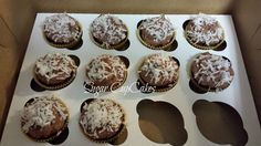 Sugar Free Chocolate Coconut Cupcakes