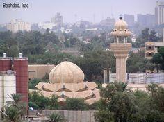 Mosque in Baghdad جامع في بغداد Baghdad بغداد