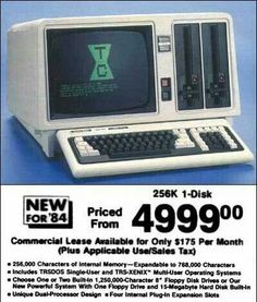 New for (This was the very first word processor I used . and then came PCs. - Vintage Computer Retro - New for (This was the very first word processor I used … and then came PCs! Alter Computer, Old Advertisements, Retro Advertising, Gadgets, Computer Technology, Computer Science, Old Ads, Vintage Ads, Vintage Stuff
