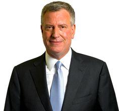 New York Mayor, Bill de Blasio