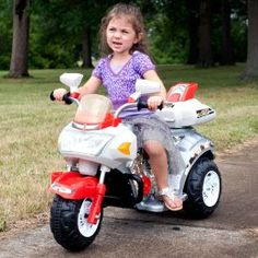 Lil Rider Ruby Racer Motorcycle Battery Powered Riding Toy