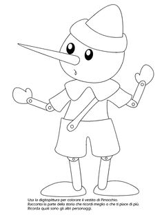 25 Fantastiche Immagini Su Storia Di Pinocchio Disney Coloring