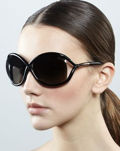 50192bf53e Whitney Polarized Cross Sunglasses by TOM FORD at Bergdorf Goodman  450.00 Sunglasses  Shop