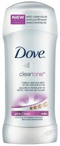 Dove Clear Tone Anti-Perspirant/Deodorant Review & Giveaway