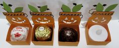 Stampin' Up Everyday Jar  Pumpkin Lantern/Treat Holders created by Lynn Gauthier…