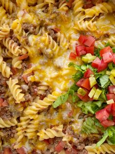 Beef Casserole Recipes, Ground Beef Casserole, Pasta Casserole, Pasta Recipes, Appetizer Recipes, Real Food Recipes, Cooking Recipes, Hamburger Recipes, What's Cooking