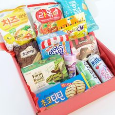 Snack Fever = a subscription box that sends Korean snacks every month.