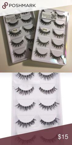 10 pair false eyelashes 10 new pairs of false lashes Makeup False Eyelashes