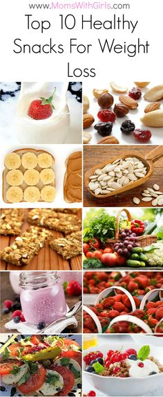 top 10 healthy snacks for weight loss
