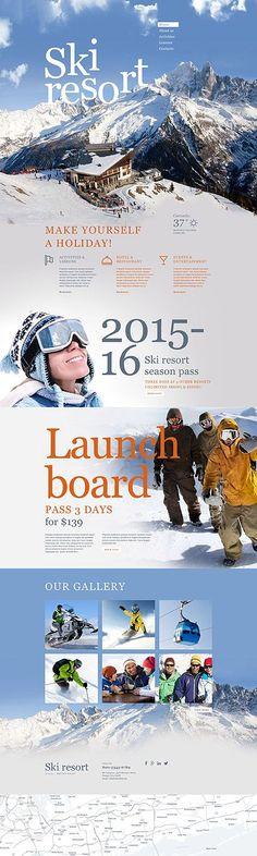 Ski Resort Website #Muse #template. #themes #business #webtemplates (scheduled via http://www.tailwindapp.com?utm_source=pinterest&utm_medium=twpin&utm_content=post11773688&utm_campaign=scheduler_attribution)