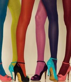~~ peep toes and tights ~~  ** Yes please **