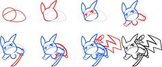 how to draw pikachu in 5 simple steps 9gag