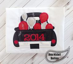 2014 Retro Truck with Balloons  with and by BeauMitchellBoutique, $6.00