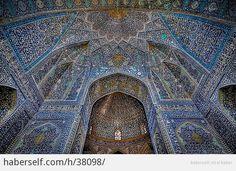İslami Mimarinin En Güzel Camiilerinden Bakmaya Doyamayacağınız 15 Tavan Süslemesi - Haberself