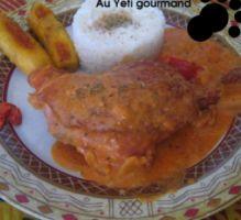 Recette - Poulet fumé sauce arachide & sa douceur africaine - Proposée par 750 grammes