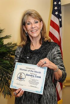 Owner of Our Town Sarasota/Manatee, Sondra Conk was recently named #WomanOfTheMonth because of her outstanding achievements, sparkling personality & leadership ability. Congratulations, Sondra! Keep up the good work!
