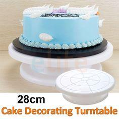 Cake Decorating Turntable Sainsburys : Best Rotating Cake Stand Recipe on Pinterest