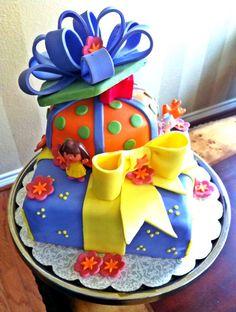 Too Sweeties Bake Shoppe.. Dora Cake
