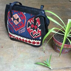 Beautiful Vintage Turkish Shoulder Tapestry Handbag by lavaimaria
